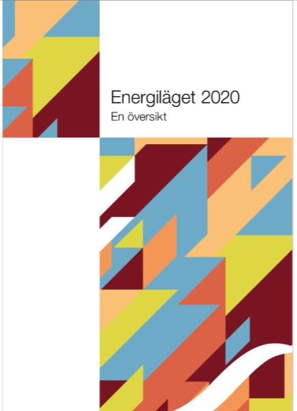 Omslag Energiläget 2020 - en översikt