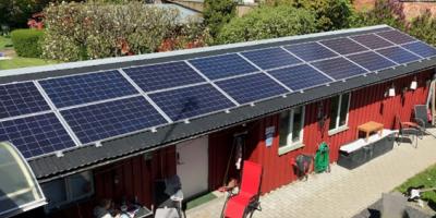 Grannar gick ihop för solcellsinköp